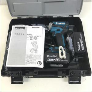 マキタ/TD171DRGX  充電式インパクトドライバ